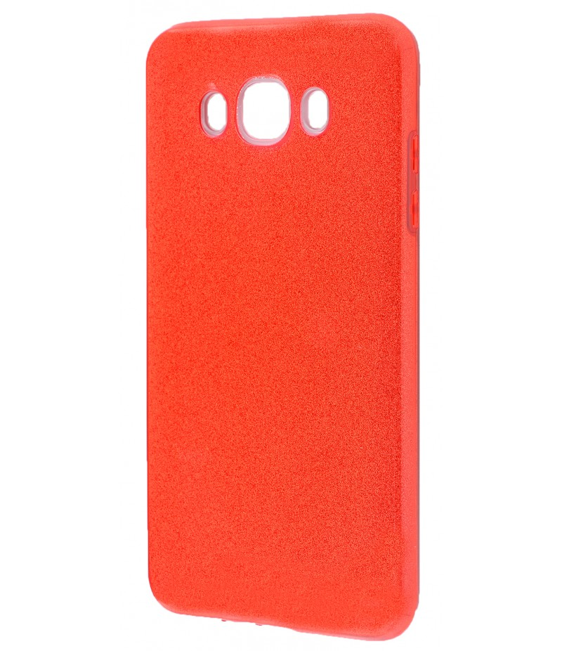Shining Glitter Case Samsung Galaxy J7 2016 (J710) Red