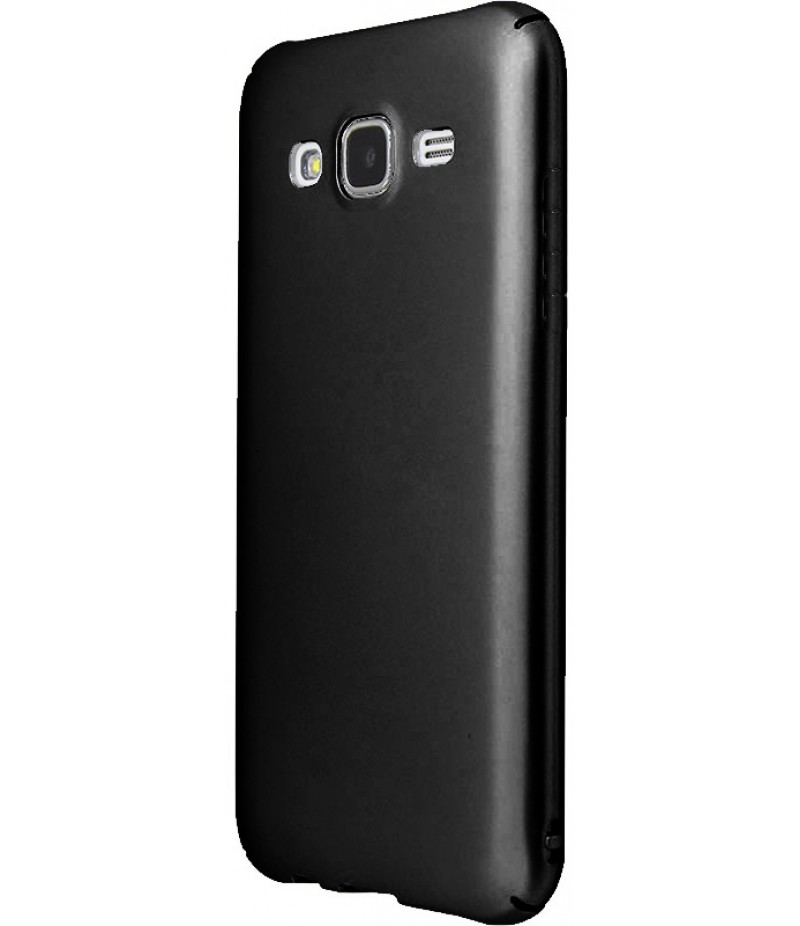 PC Soft Touch Case Samsung Galaxy J7 2016 (J710) Black