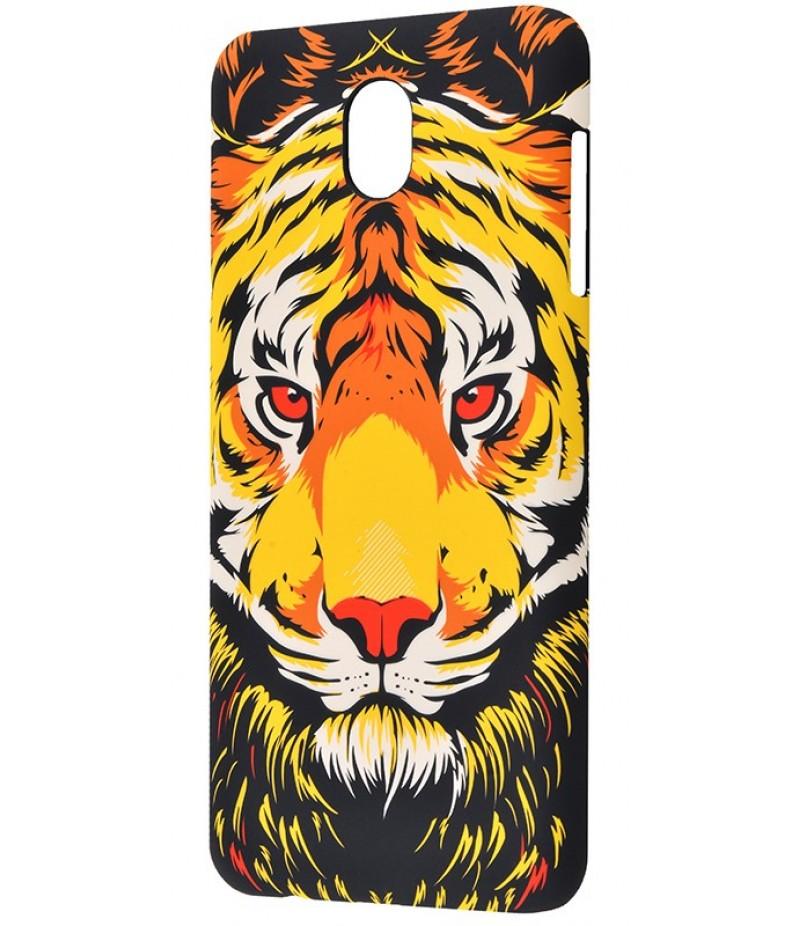 Luxo Samsung J730 тигр оранжевый