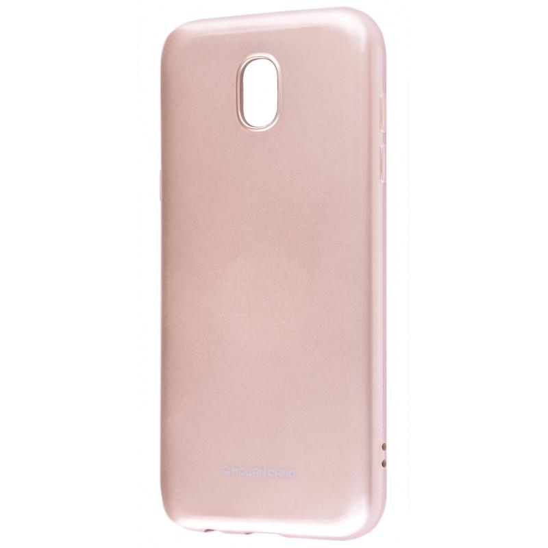 Чохол Molan Cano Glossy Jelly Case Samsung J730 (J7 2017) Gold