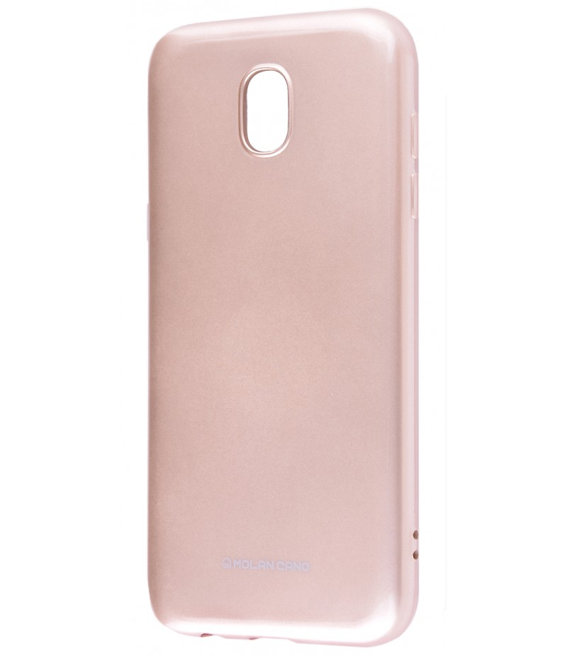 Чохол Molan Cano Glossy Jelly Case Samsung J730 (J7 2017) Gold