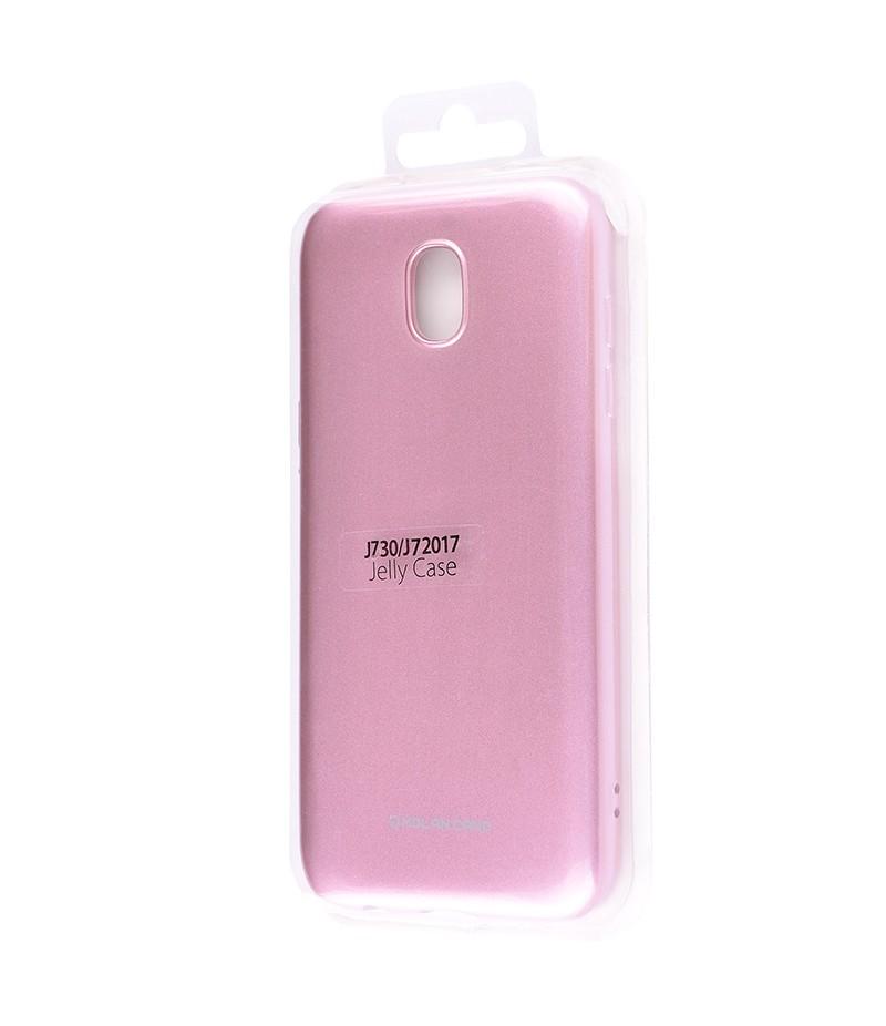 Чохол Molan Cano Glossy Jelly Case Samsung J730 (J7 2017) Pink