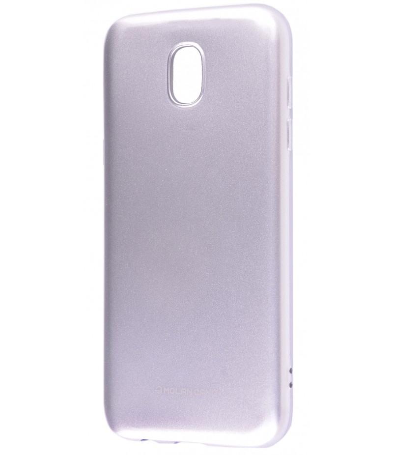 Чохол Molan Cano Glossy Jelly Case Samsung J730 (J7 2017) Silver