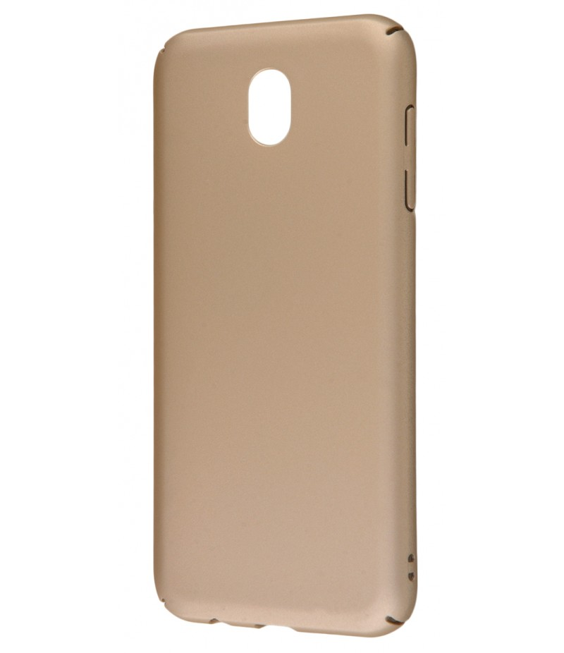 PC Soft Touch Case Samsung Galaxy J7 2017 (J730F) Gold