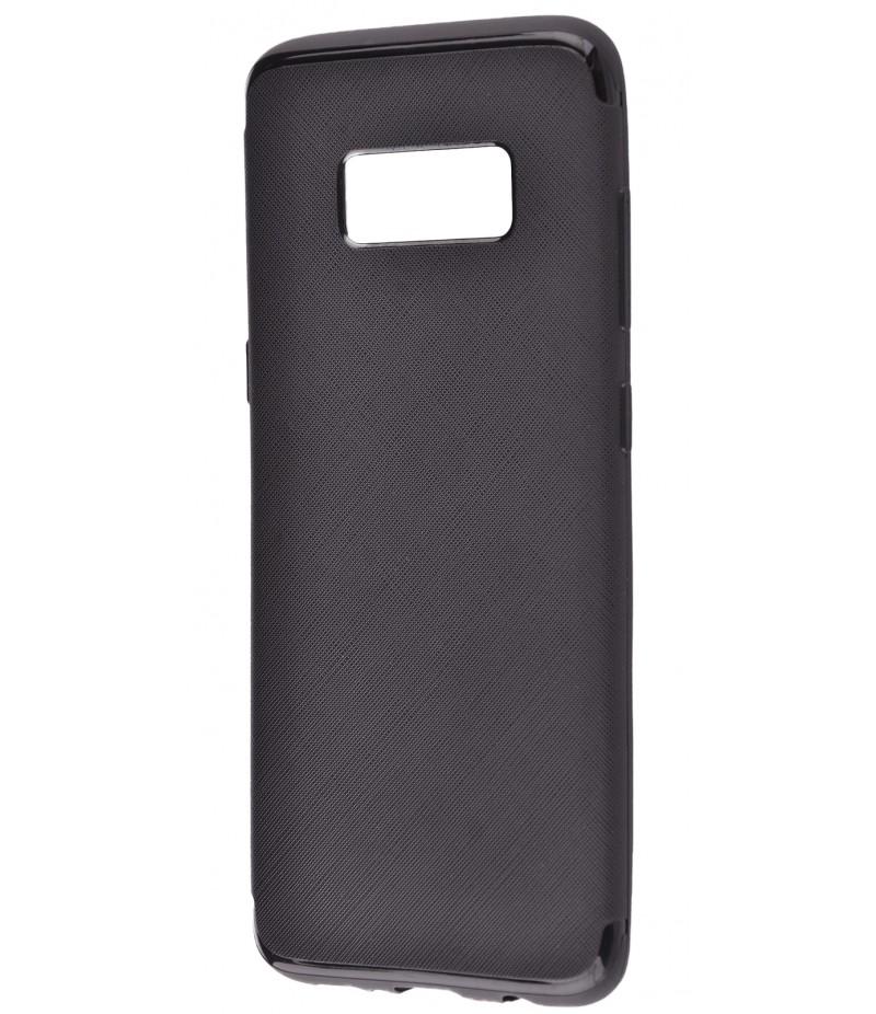 TPU Cross Line Samsung S8+ black