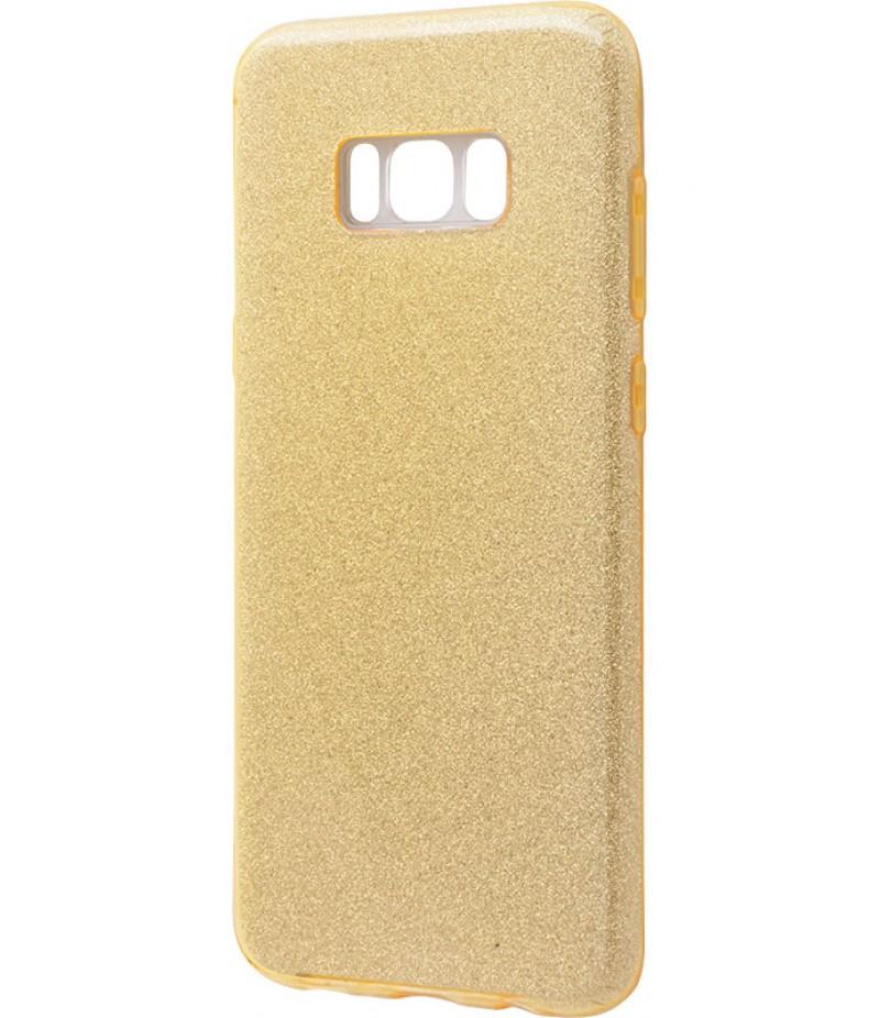 Glitter Samsung S8+ gold