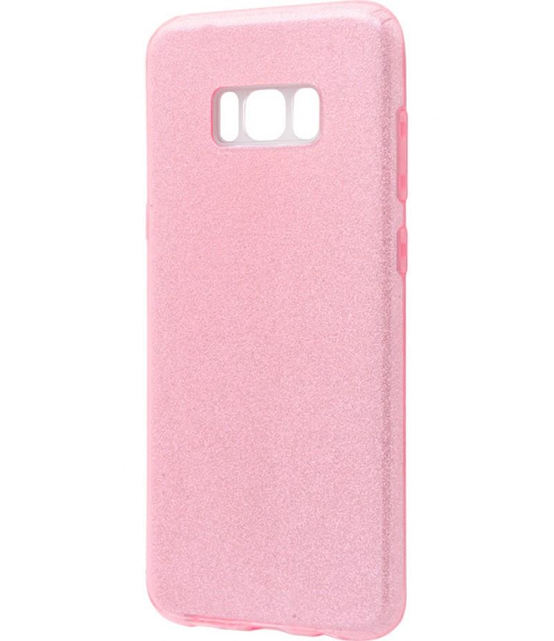 Glitter Samsung S8+ pink