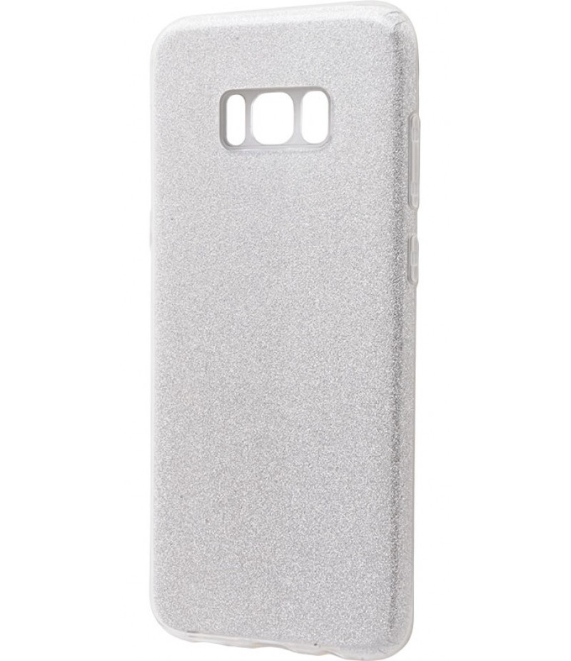 Shining Glitter Case Samsung Galaxy S8 Plus Silver