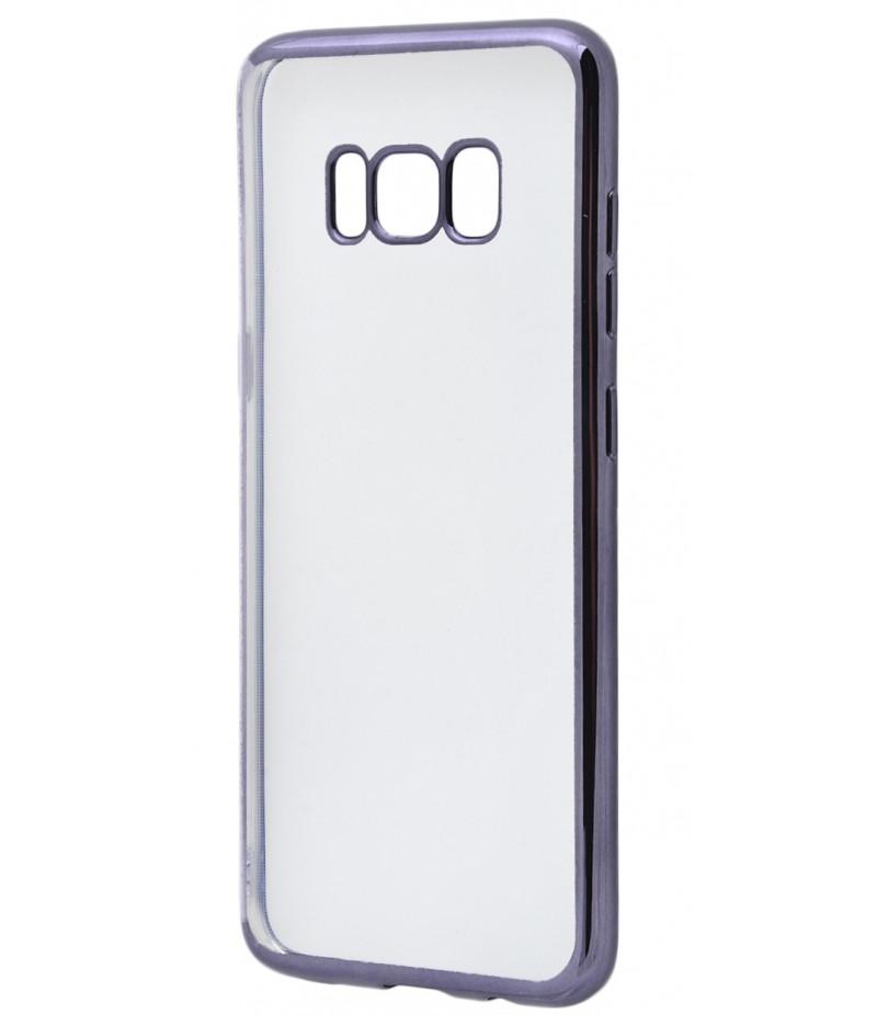 Силикон метализированный Samsung S8 + black