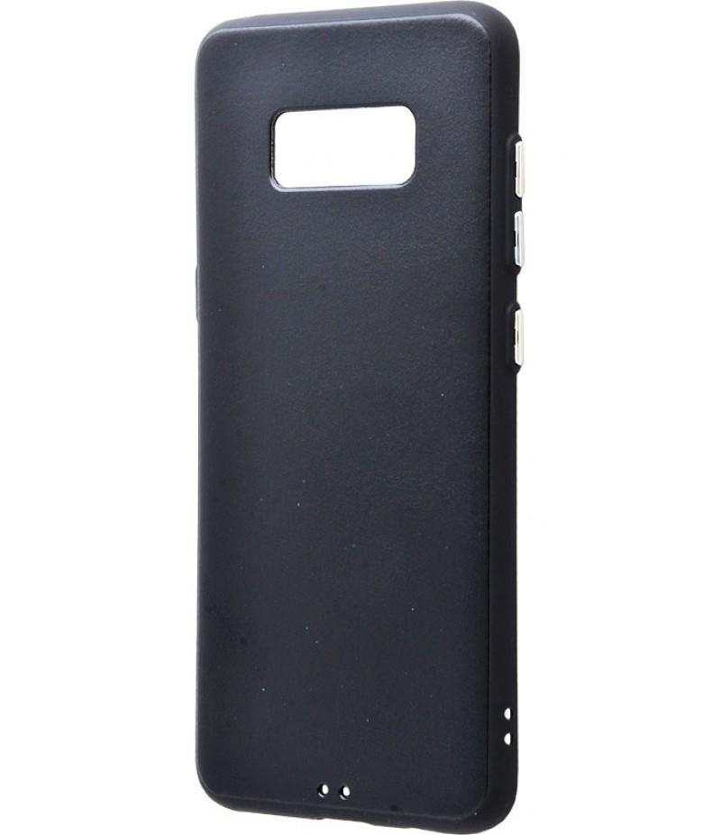My colors Под Кожу (TPU) Samsung Galaxy S8 Plus Black