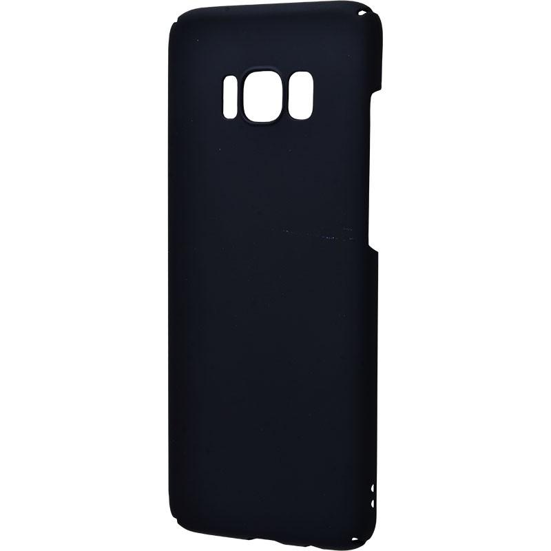 PC Soft Touch Case Samsung Galaxy S8 Plus Black
