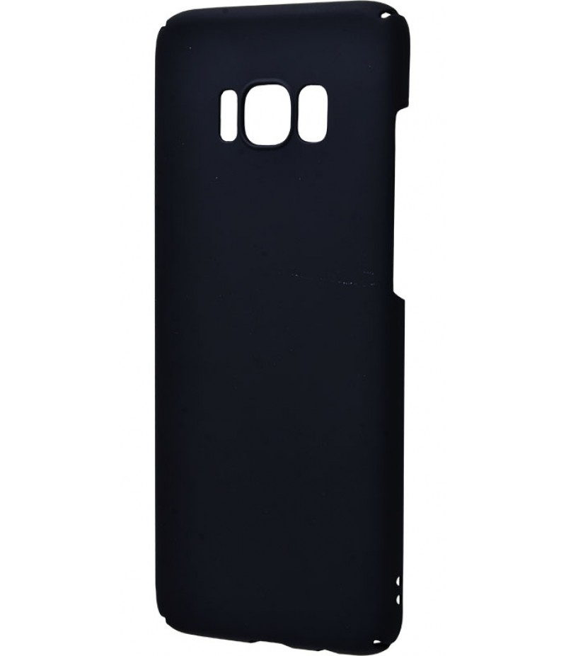 PC Soft Touch Case Samsung Galaxy S8 Plus Black
