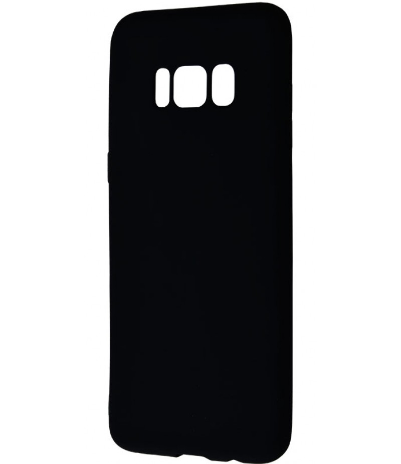 Soft Matt (TPU) Samsung Galaxy S8 Plus Black