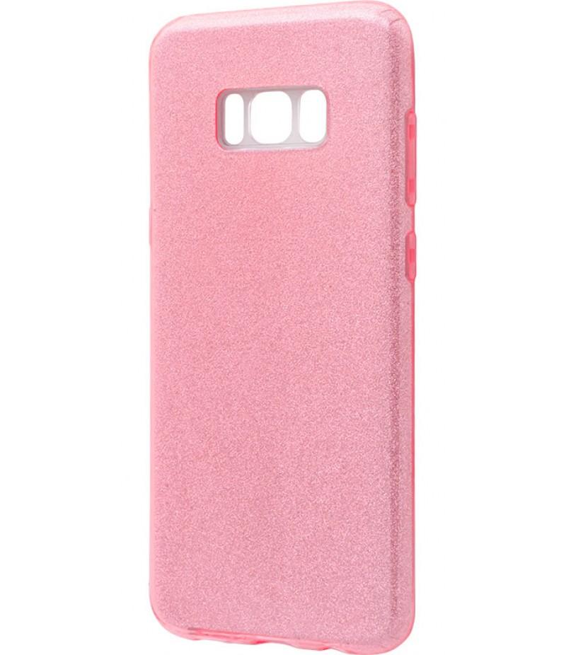 Ударопрочный чехол Shining Glitter Samsung Galaxy S8 Pink