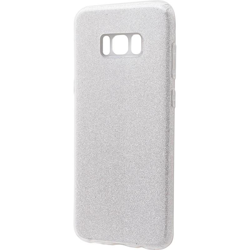 Удароміцний чохол Shining Glitter Samsung Galaxy S8 Silver
