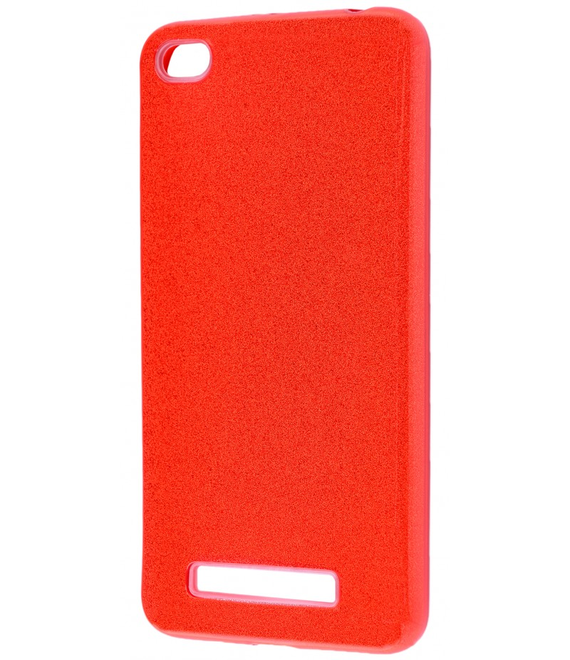 Shining Glitter Case Xiaomi Redmi 4A Red