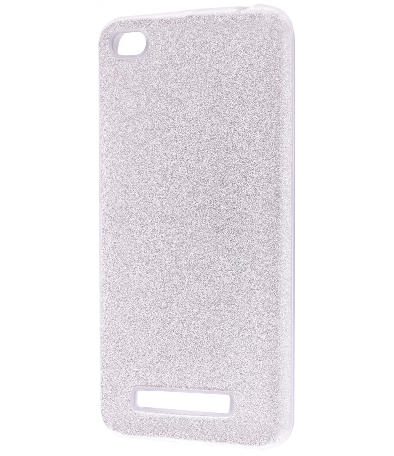 Shining Glitter Case Xiaomi Redmi 4A Silver
