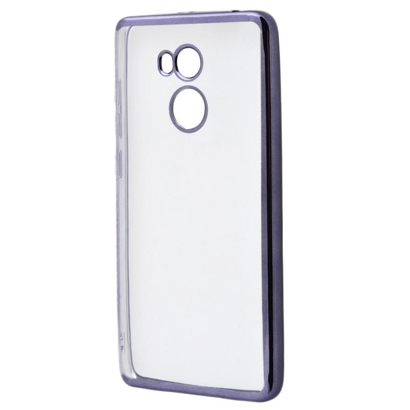 Металізований (TPU) Xiaomi Redmi 4 Prime Grey