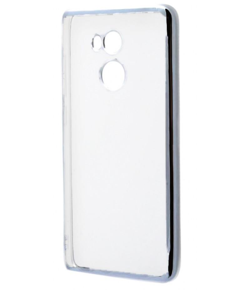 Силикон метализированный silver Xiaomi 4 Prime