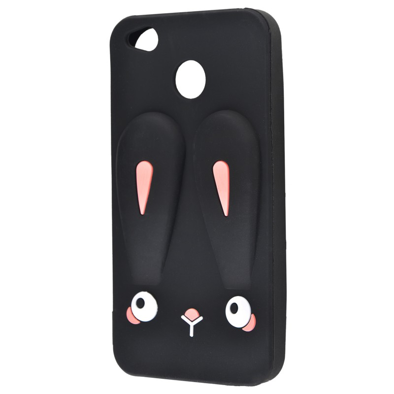 3D чохол Rabbit Xiaomi Redmi 4X Black