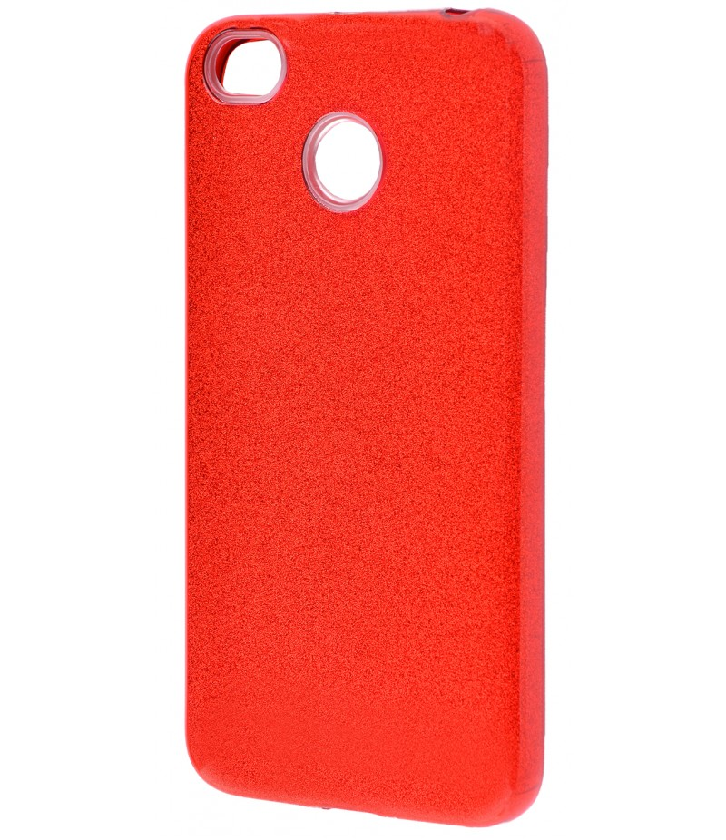 Shining Glitter Case Xiaomi Redmi 4X Red