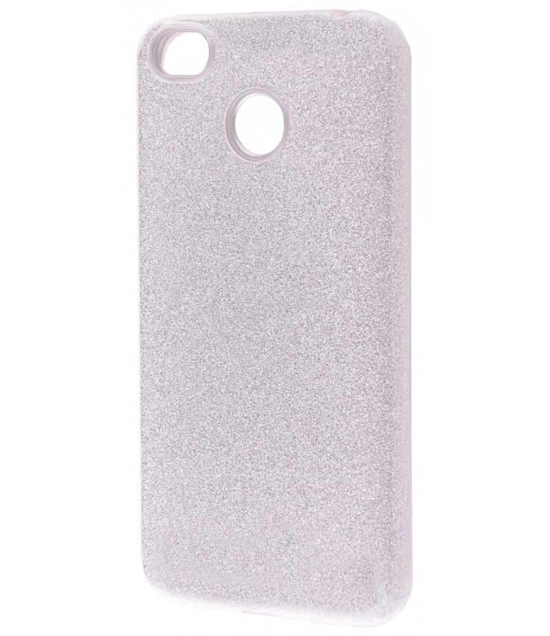 Shining Glitter Case Xiaomi Redmi 4X Silver