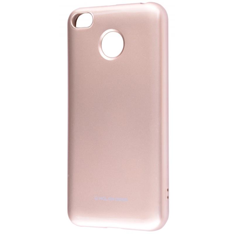 Molan Cano Glossy Jelly Case Xiaomi Redmi 4X Gold