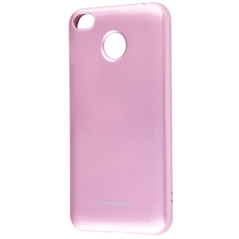 Molan Cano Glossy Jelly Case Xiaomi Redmi 4X Pink