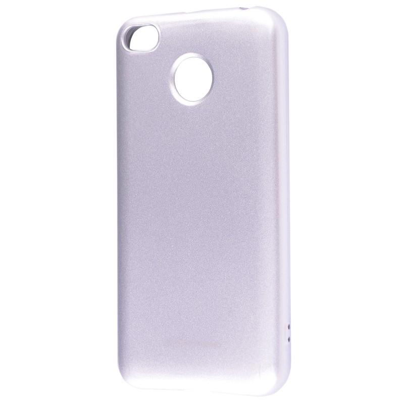 Molan Cano Glossy Jelly Case Xiaomi Redmi 4X Silver