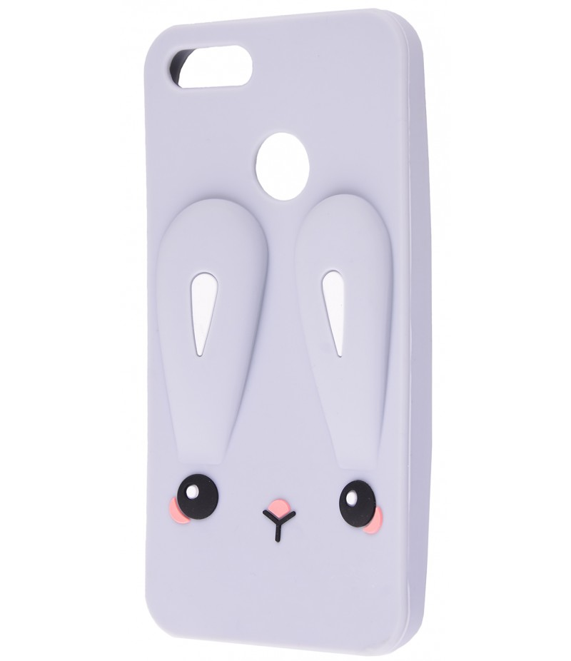 3D чехол Rabbit Xiaomi Mi A1/Mi5X Grey