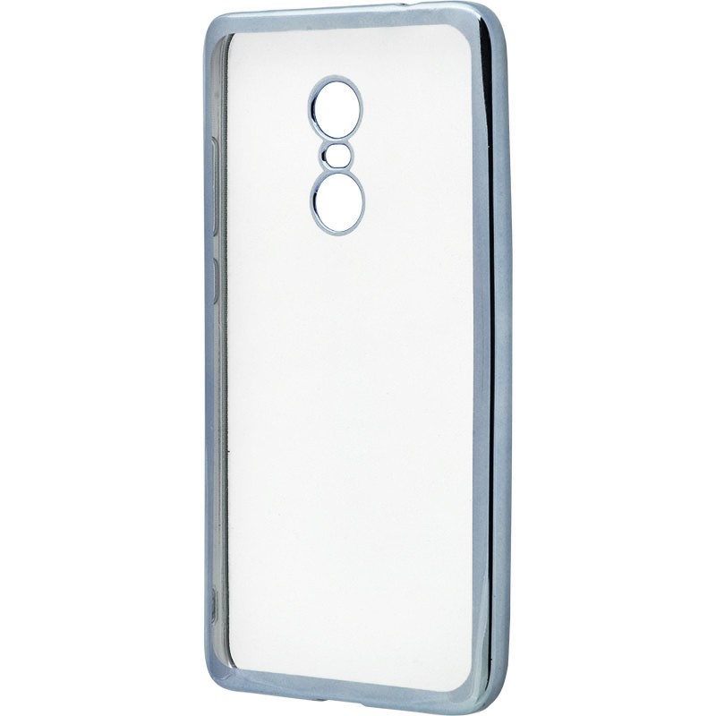 Металізований (TPU) Xiaomi Redmi Note 4 Grey