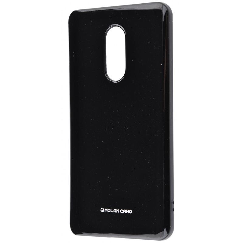 Molan Cano Glossy Jelly Case Xiaomi Redmi Note 4X Black