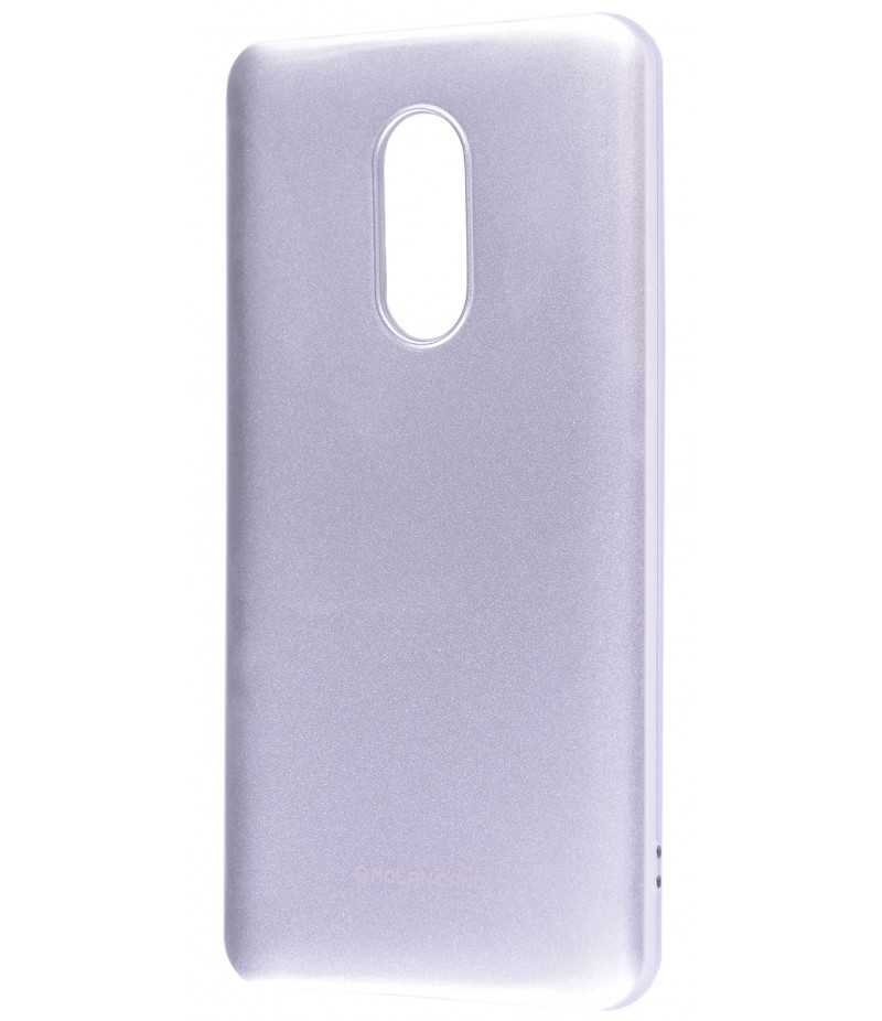 Molan Cano Jelly Gloss Xiaomi Note 4X silver