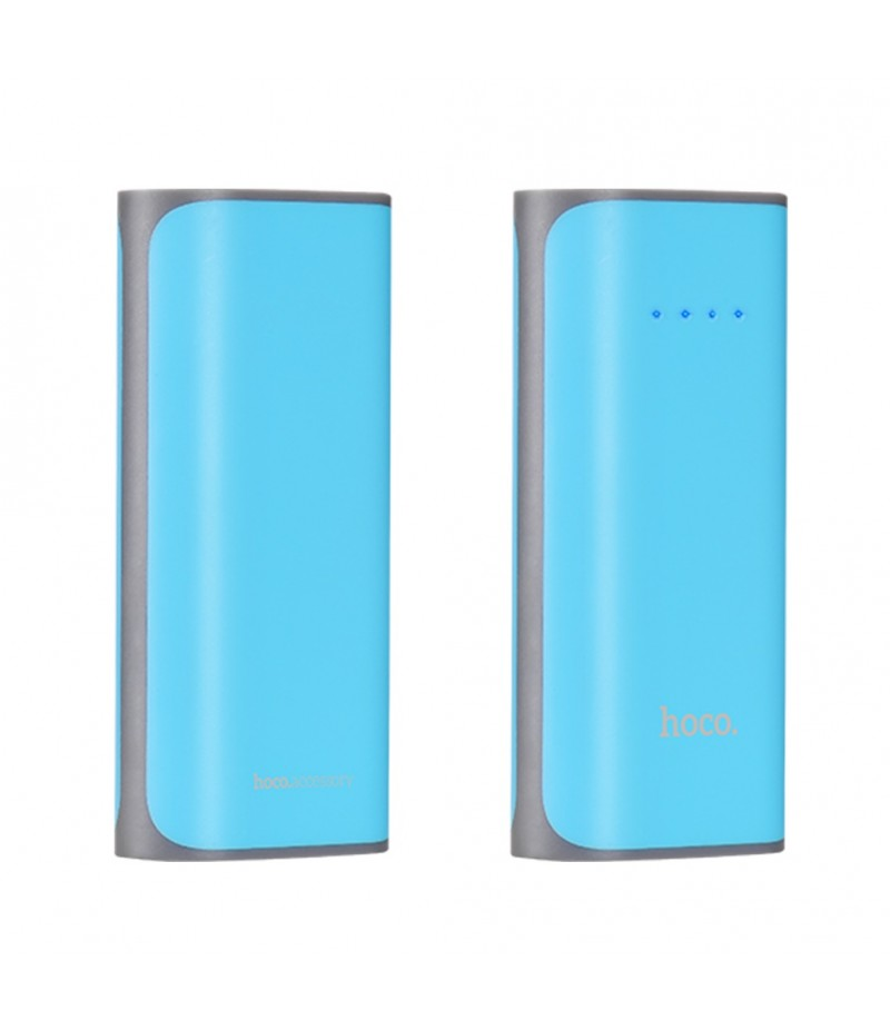 Зовнішній акумулятор Hoco B21 5200 mAh Blue