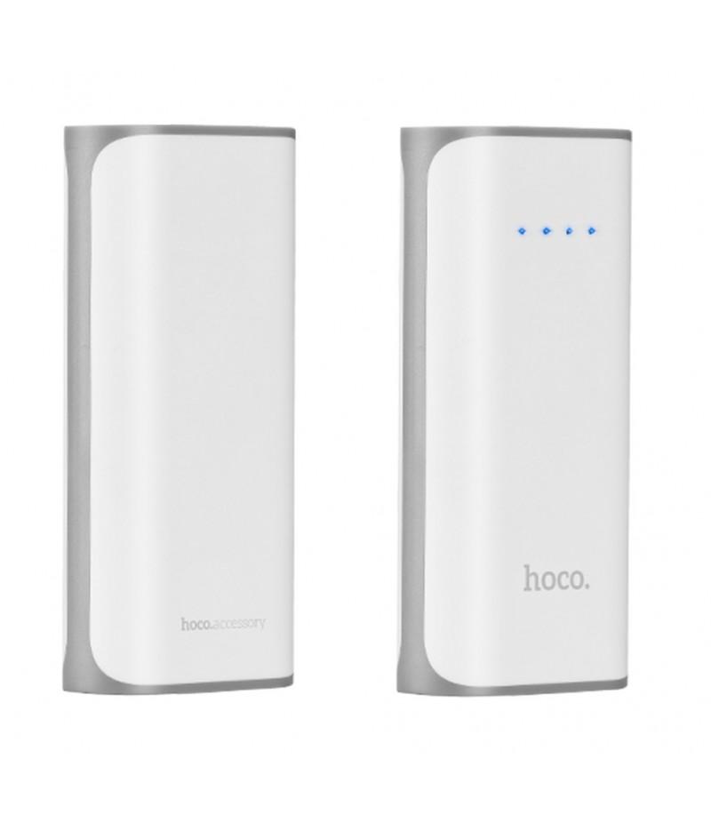 Зовнішній акумулятор Hoco B21 5200 mAh White
