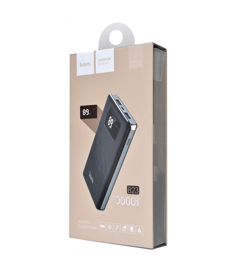 Powerbank Hoco B23 Flowed 10000 mAh black