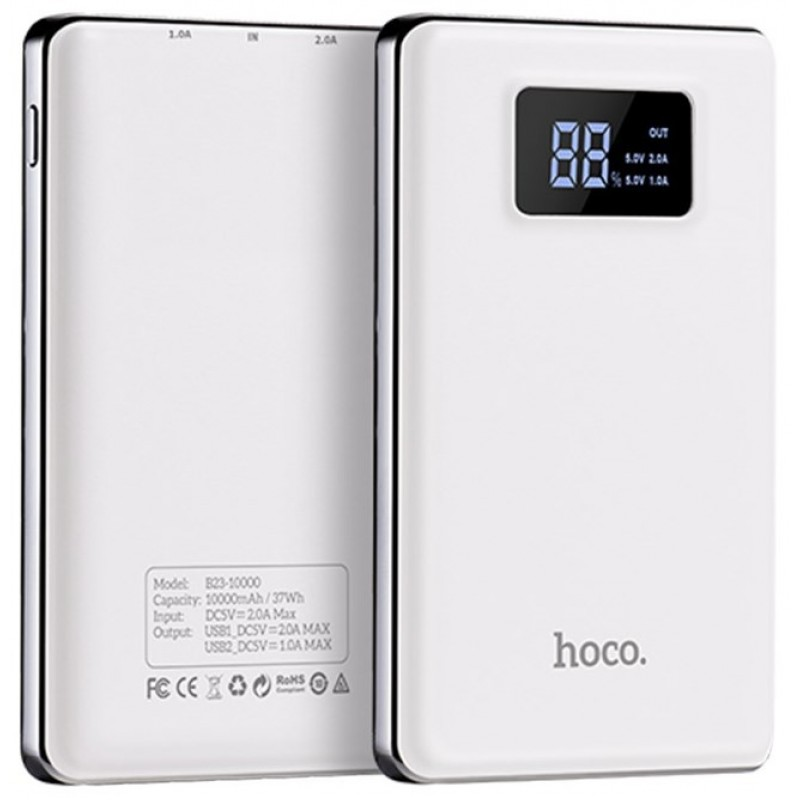 Powerbank Hoco B23 Flowed 10000 mAh white
