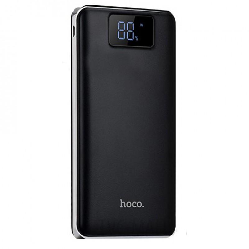 Зовнішній акумулятор Hoco B23B Flowed 20000 mAh Black
