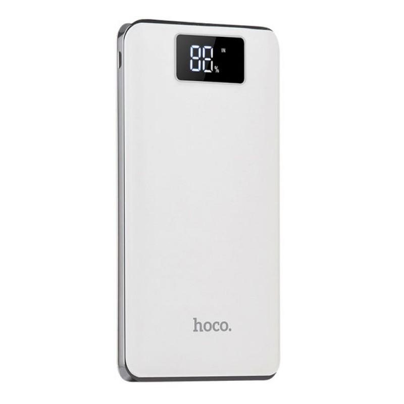 Зовнішній акумулятор Hoco B23B Flowed 20000 mAh White