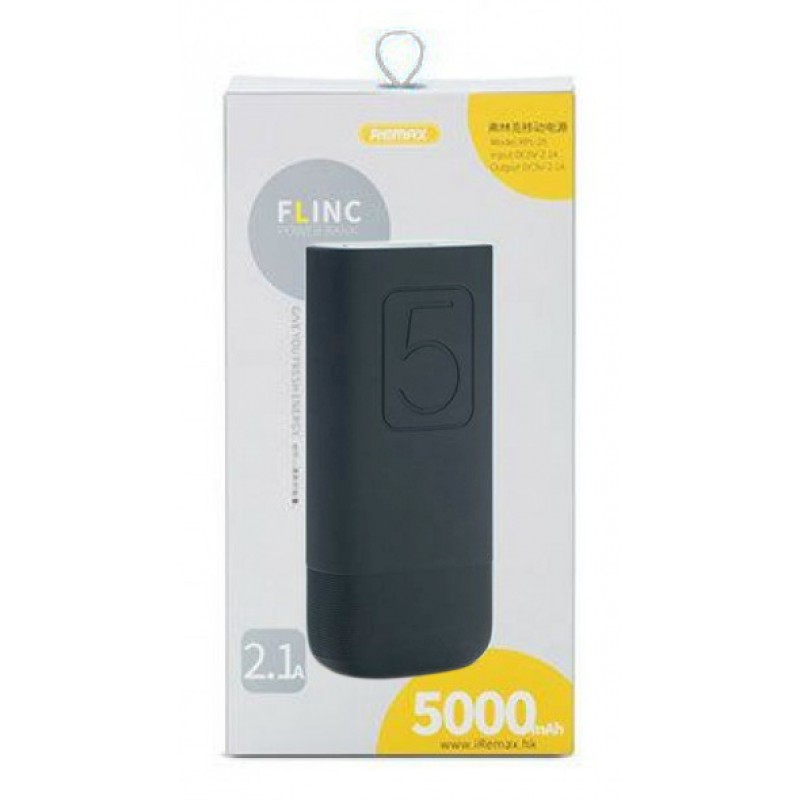 Powerbank Remax Flinc 5000mah black