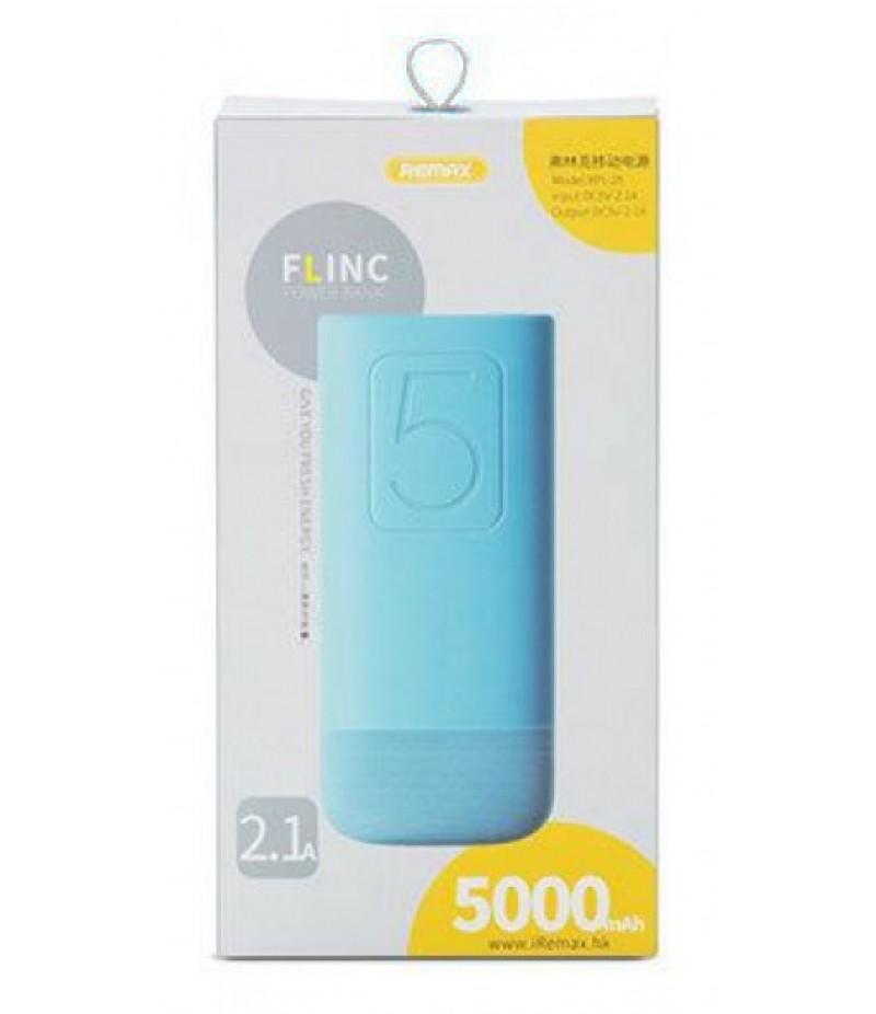 Powerbank Remax Flinc 5000mah blue