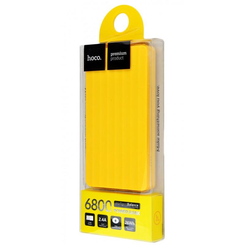 Powerbank Hoco UPB01 Simple 6800 mAh yellow