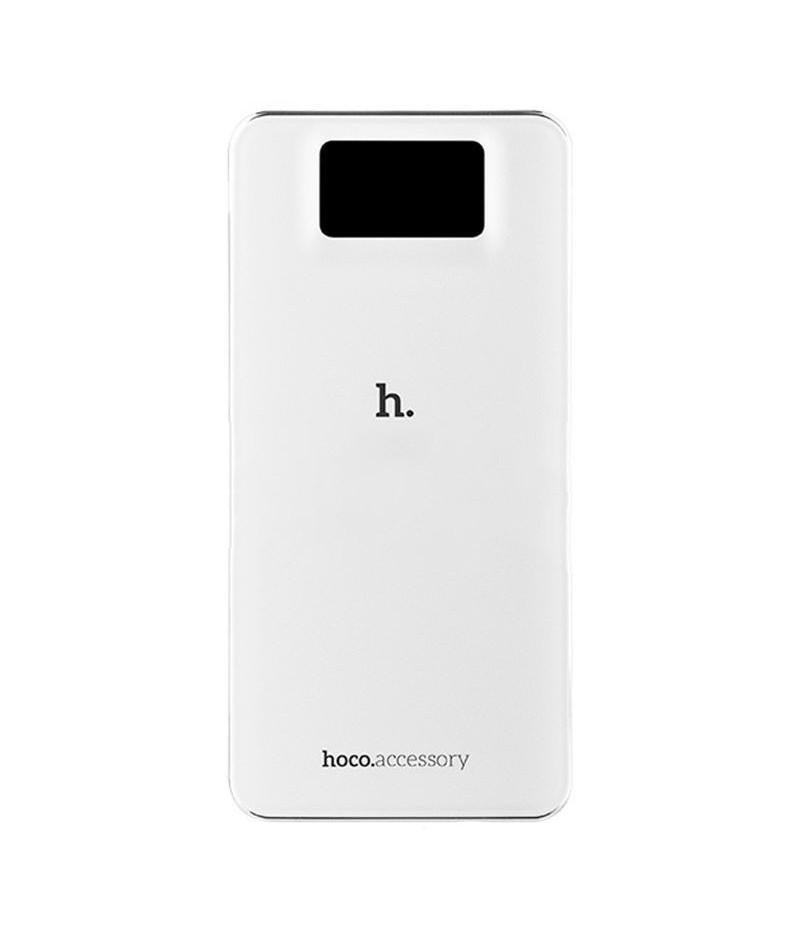 Зовнішній акумулятор Hoco UPB05 Classic 10000 mAh White