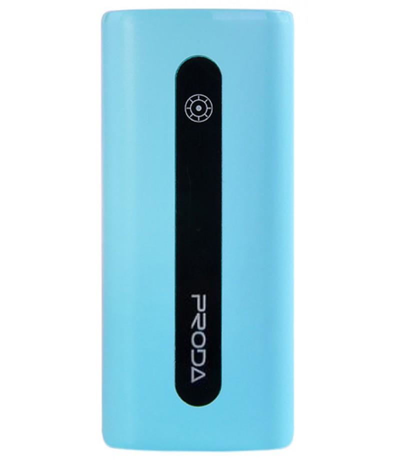Зовнішній акумулятор Proda E5 5000mAh + microUSB Blue