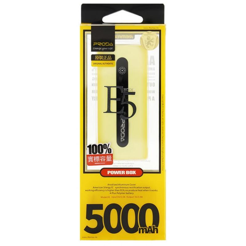 Powerbank Proda E5 5000mAh yellow