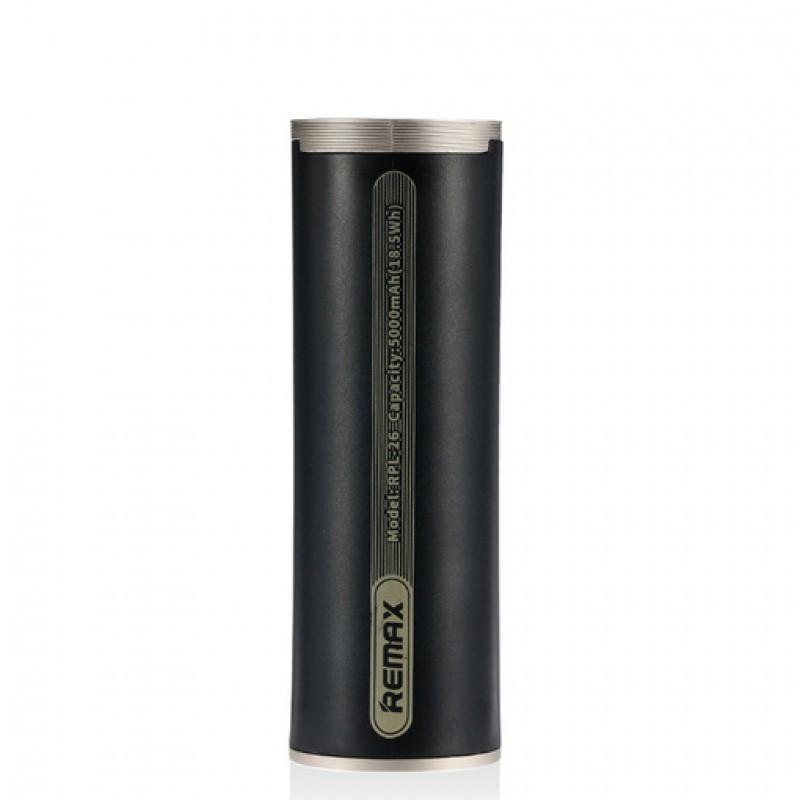 Powerbank Remax Ring Holder RPL-26 5000 mAh black