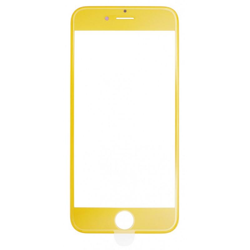 Захисне 4D скло Full Screen 360 для iPhone 6 Plus Yellow
