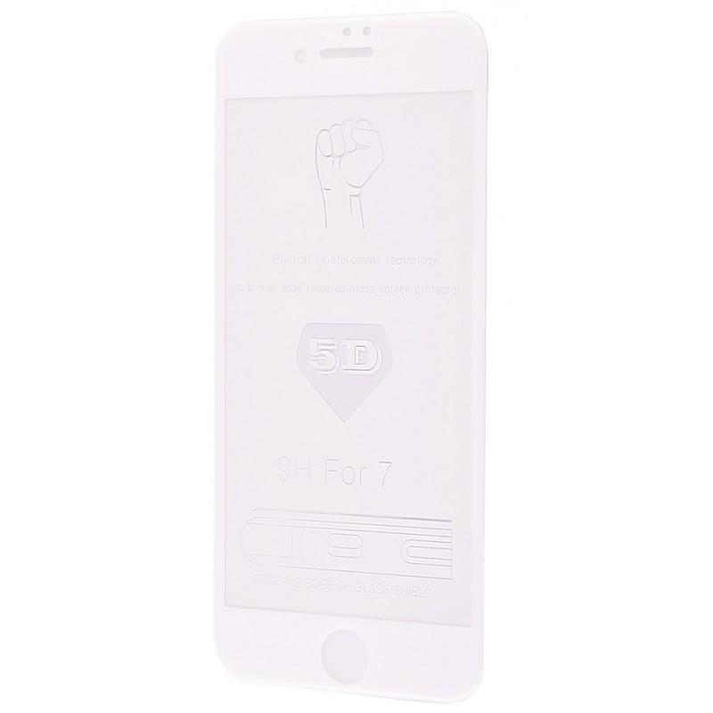 Захисне 5D скло Full Screen 360 для iPhone 7 White