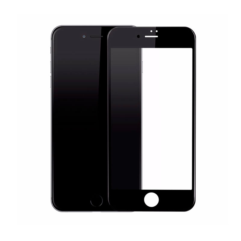 Захисне 3D скло Baseus PET Soft 0.23mm для iPhone 7 Black