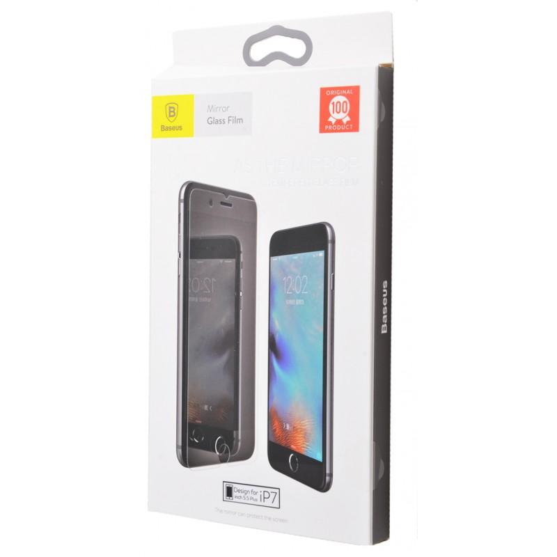 Захисне скло Baseus Mirror Glass Film iPhone 7